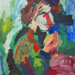 562: Tempera painting 07